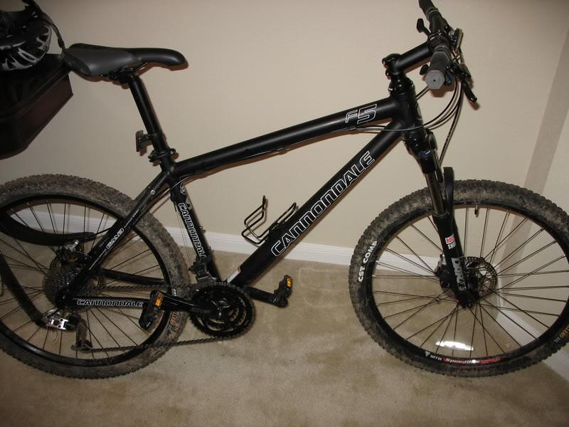 2008 Cannondale F5 Chicago Stolen Bike Registry