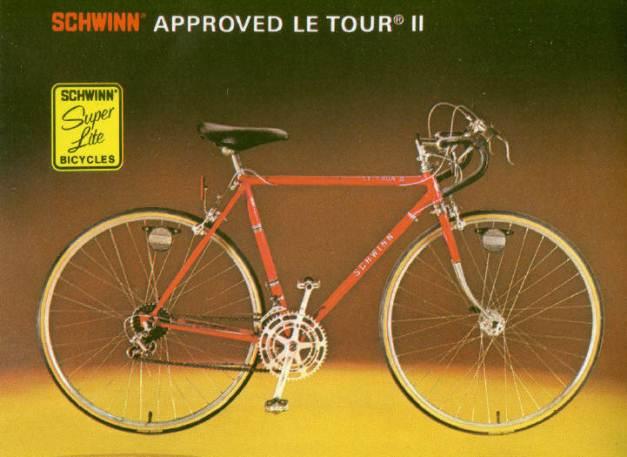Schwinn Le Tour Stickers
